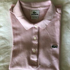 Lacoste Women's Cotton Pique Polo Shirt 3 buttons